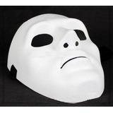 Mascara Sem Face Cs Paintball Branca Carnaval Haloween Festa