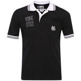Camisa Oficial Pólo Santos Peixe Preta Since 1912