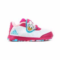 Zapatillas Adidas Nena Bebe Disney Classic Cf I Blanco Rosa