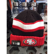 Gorro New Era Nfl Beanie Tejido 49ers San Francisco Sf Red