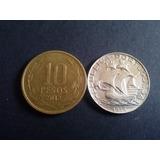 Moneda Portugal 2 1/2 Escudos 1944 Plata (c1classic)