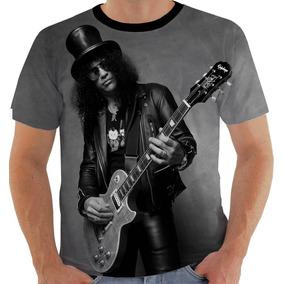 Camiseta Ou Baby Look Ou Regata Slash Guns Roses 4