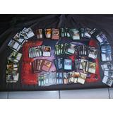 Lote Com 5x Baralhos (400 Cartas) De Magic Sem Repetições!!!
