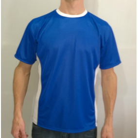 Camiseta Malha Dry Fit Com Faixa Lateral - Malha Fria