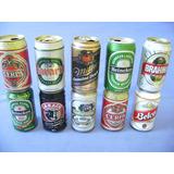 Lote 10 Latas Diversas - Decada 90 - Belco De Aço - Cerveja