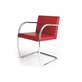 Cadeira Brno Tubular Cromada - Diversas Cores