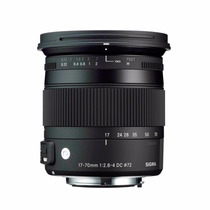 Lente Sigma 17-70mm F/2.8-4 Os Hsm Macro Dc Nikon Sem Juros