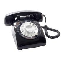 Telefone Preto Antigo Vintage Retro Pronta Entrega
