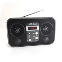 Lax Max Bocina Radio Usb Sd Mp3 Display Navega Carpeta S92