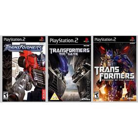 Patch Transformers Collection 3 Jogos Para Ps2 É Um Patche!