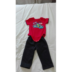 Pantalon Invierno Y Playera Garanimals 12 Meses