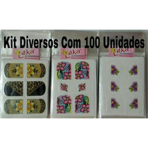 Kit C/100 Películas Sotidas Léka Acessórios