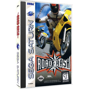 Road Rash Sega Saturn Cd Rom
