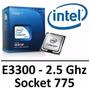 Processador Intel Celeron E3300 2.5ghz Dual Core Box
