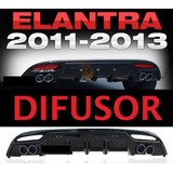 Bumper Difusor Posterior Hyundai Elantra 2011 2012 2013