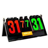 Placar 38x21cm/ Marcador De Pontos Vollo P/ 7 Sets 31 Pontos
