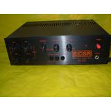Mixer Csr - Mx-2001 - Novo - Na Cx Lacrado - 8 Canais-prata