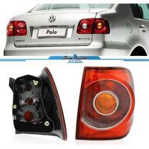 Lanterna Polo Sedan 2007 2008 2009 2010 2011 Direita Canto
