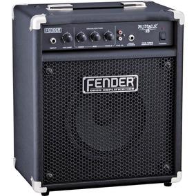 Amplificador Fender Rumble 15w P/ Baixo - Wood Music