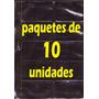 Láminas Para Tarjetas (10 Unidades + 2 Tarjetas De Regalo)