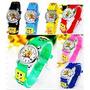 Relógio Infantil Bob Esponja Pequena Sereia Simpsons Desenho