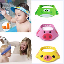 Sombrero Protector De Bebe Para Baño Ducha Corte De Cabello