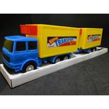 Caminhão Julieta Trailer Reboque Refrigerado 1/32 Comp.43cm