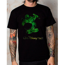 Playeras O Camiseta Walt Disney Marihuana World, Nuevas!!
