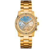 Relógio Guess Gc W0774l2 Dourado Garantia 12x Sem Juros