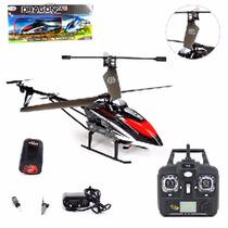 Helicoptero Dragon W6 Com Controle Remoto Com 3 Canais 2.4g
