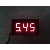 Voltimetro Display Digital, 0-100v, Auto, Moto, Refactron