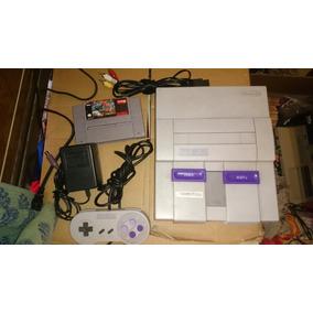 Super Nintendo Snes Con Juego Street Fighter 2