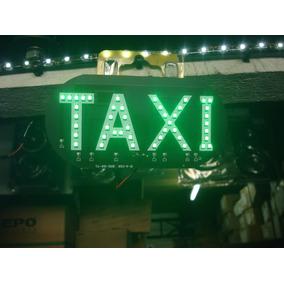 Luminoso Taxi 45 Leds Verde 12 Volts
