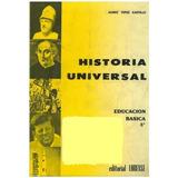 Libro, Historia Universal 2 Año De Aureo Yepez Castillo.