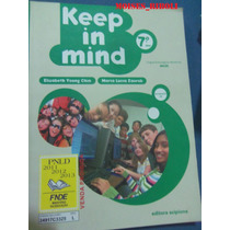 Livro Keep In Mind 7º Ano Com Cd Jj