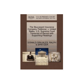 Libro Stuyvesant Insurance Company, Petitioner,, Donald Graj
