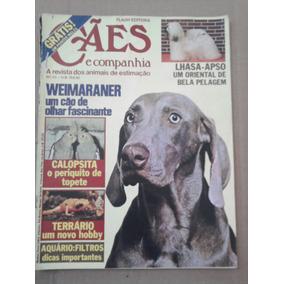 Revista Cães E Companhia N° 23 Abr. 81 Weimaraner Lhasa-apso
