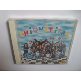 Cd Original - Chiquititas Volume 4