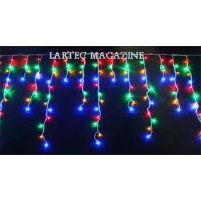 Pisca De Led Cascata 120lamp.110v-colorida