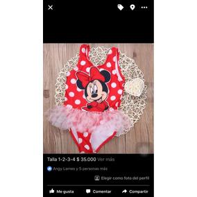 Vestidos De Baño Niñas Minnie Y Peppa Pig
