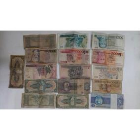 Notas Antigas Cruzeiro E Cruzados Brasil Coleção