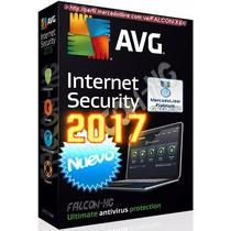 Nuevo Antivirus Avg Internet Security 2017! Licencia 2 Años!