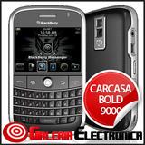 Carcasa Negra Para Blackberry 9000 Bold