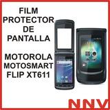 Film Protector De Pantalla Motorola Motosmart Flip Xt611 Nnv