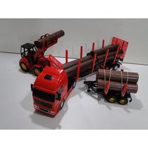 Caminhão Trator Florestal Carreta 2 Eixos Toras Bitrem Volvo