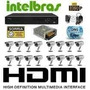 Cftv Dvr 3116 Intelbras, Hd 1 T, 16 Cameras Infra 25 M 1000l