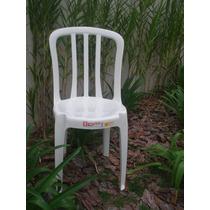 Cadeiras De Plástico Bistrô Goiania -unica 140kg
