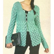 Tejidos Artesanales A Crochet: Saco Corte Princesa