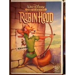 Robin Hood Walt Disney Película Infantil Black0012010 Marvel