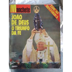 Rara Revista Manchete Do Pap João Paulo Ii No Brasil Em 1980